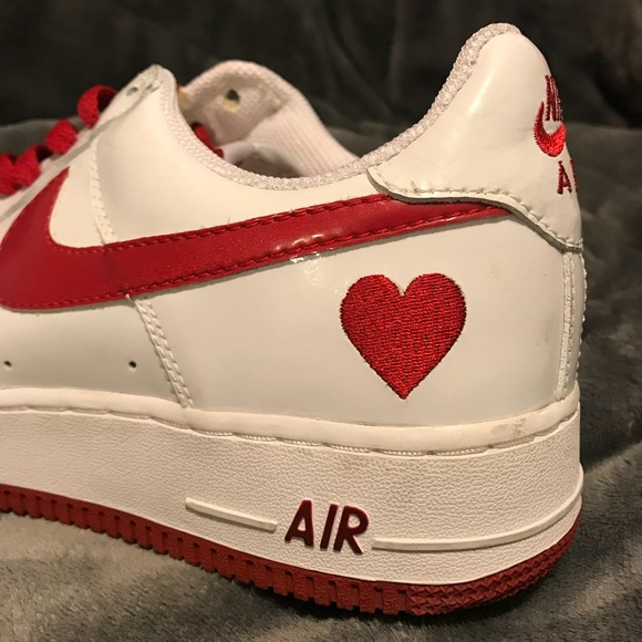 Nike Shoes Airforce 1 2004 Valentines Day Edition Poshmark